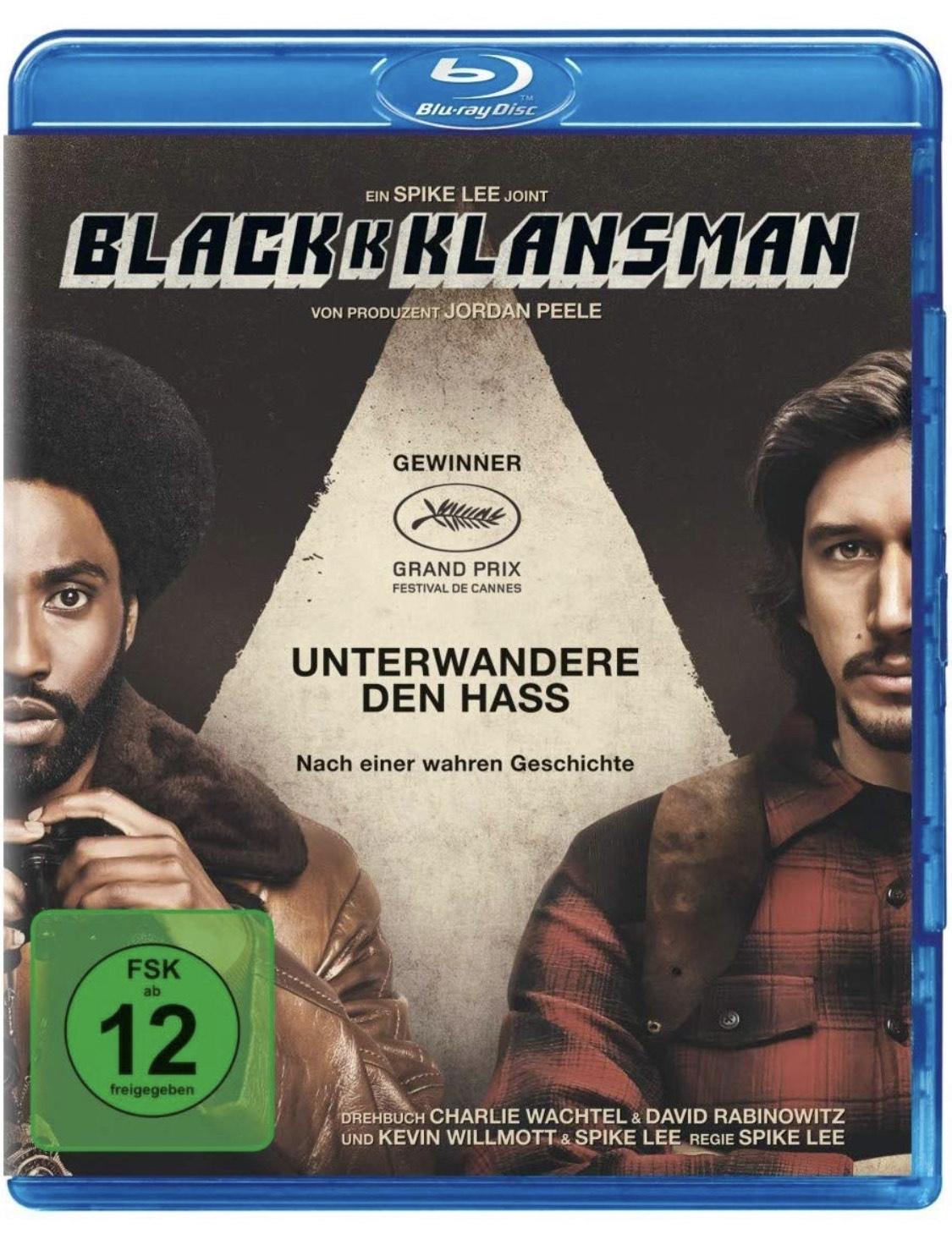 BLACKkKLANSMAN - Bluray