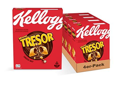 (Amazon Prime ) Kellogg Tresor Choco Nut, 4er Pack (4 x 375 g) Sparabo nur 6.41€