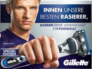 [Müller Online] Bei Müller auf alle Gilette-Produkte 20%