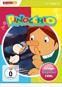 Pinocchio - Komplettbox (9 DVD) (52 Folgen) (Amazon Prime)