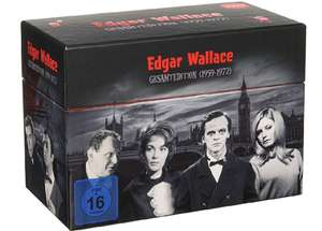 Edgar Wallace Gesamtedition Box (1959-1972) NEU 33 DVDs Komplettbox Staffel 1-10