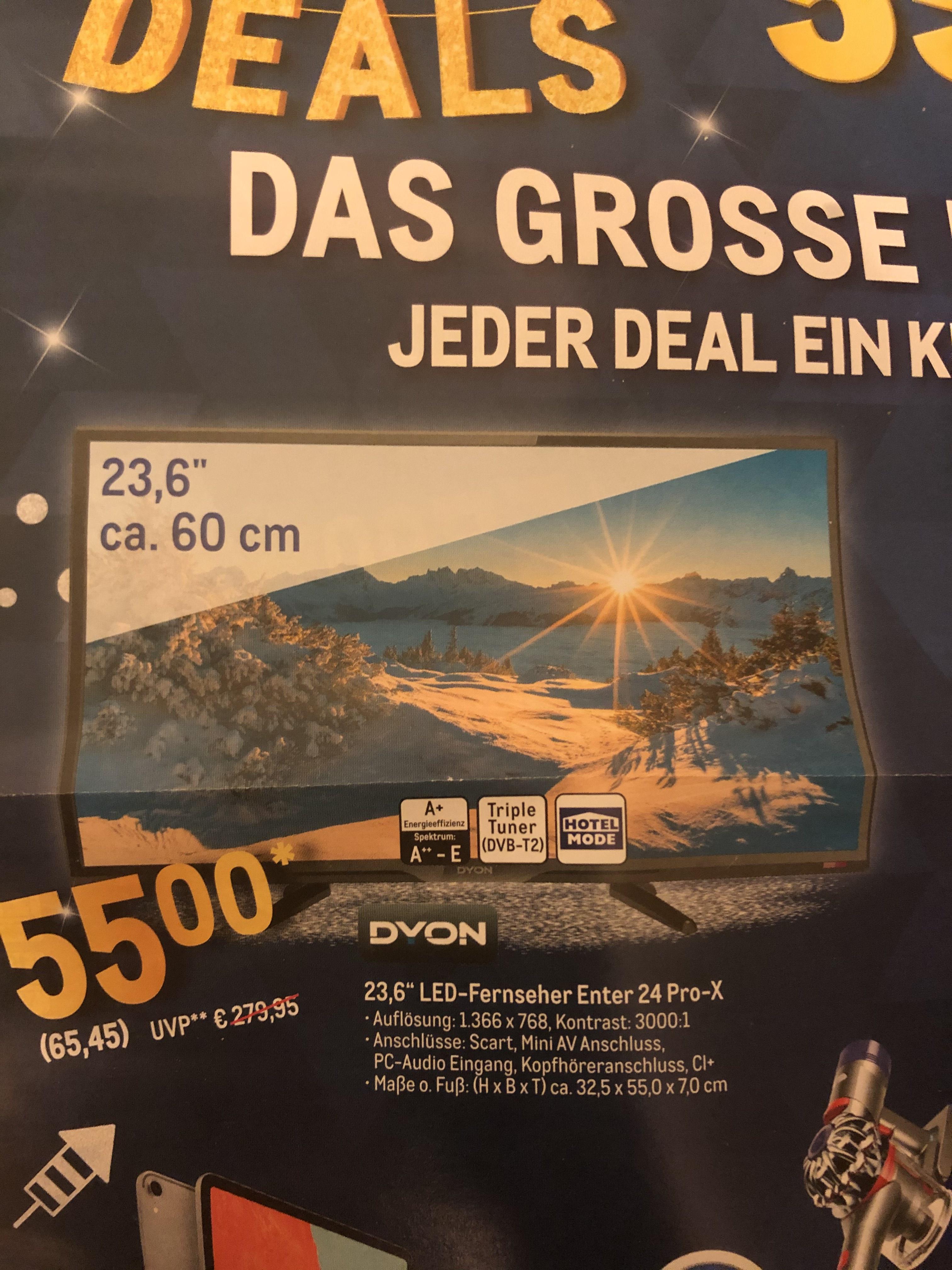 """[METRO] 23,6"""" Dyon Fernseher"""