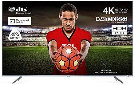 TCL 43DP640 109 cm (43 Zoll) Fernseher (Ultra HD, Triple Tuner, Smart TV) [Amazon]