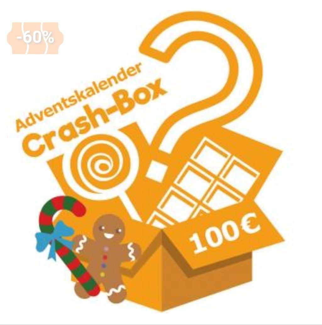 Crash-Box Adventskalender im Wert von 100€ (inkl. VK)