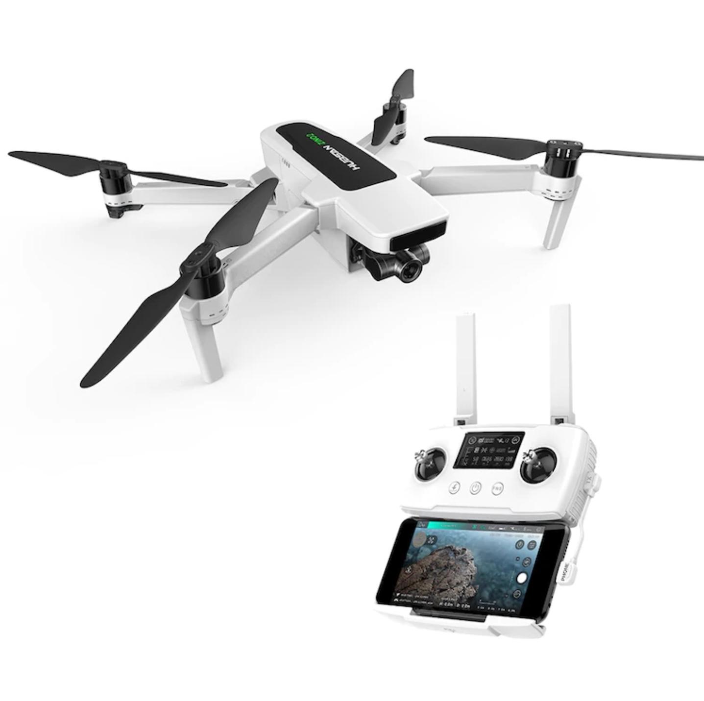 (Vorverkauf)(Gearbest) Hubsan Zino 2 GPS 4K-60fps Drohne/Quadcopter 3-Achsen Gimbal 33min Akkulaufzeit 1 Akku ohne Tasche