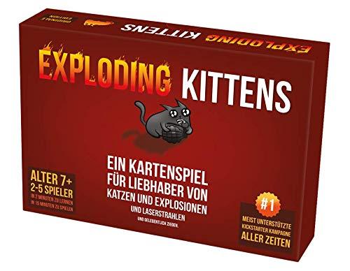 Exploding (Imploding) Kittens Kartenspiel