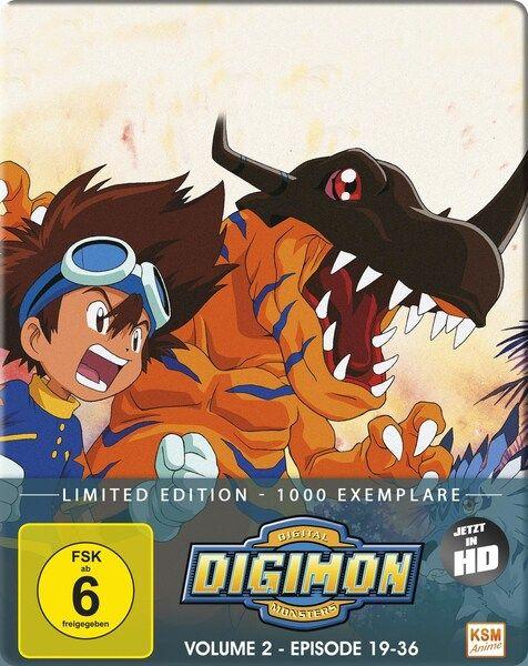 Digimon Adventure - Staffel 1, Volume 2: Episode 19-36 Bluray