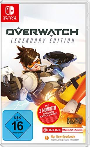 Overwatch: Legendary Edition + 3 Monate Nintendo Switch Online (Switch) für 19,99€ (Amazon Prime & Otto)