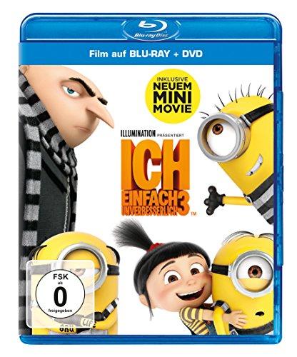 Ich - Einfach unverbesserlich 3 (Blu-ray + DVD) für 6,97€ (Amazon Prime)