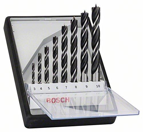 [Prime] Bosch Professional 8tlg. Robust Line Holzspiralbohrer-Set