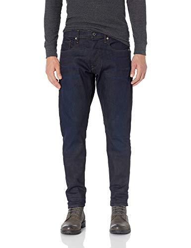 G-Star RAW 3301 Straight Tapered Jeans, Dark aged (blau)
