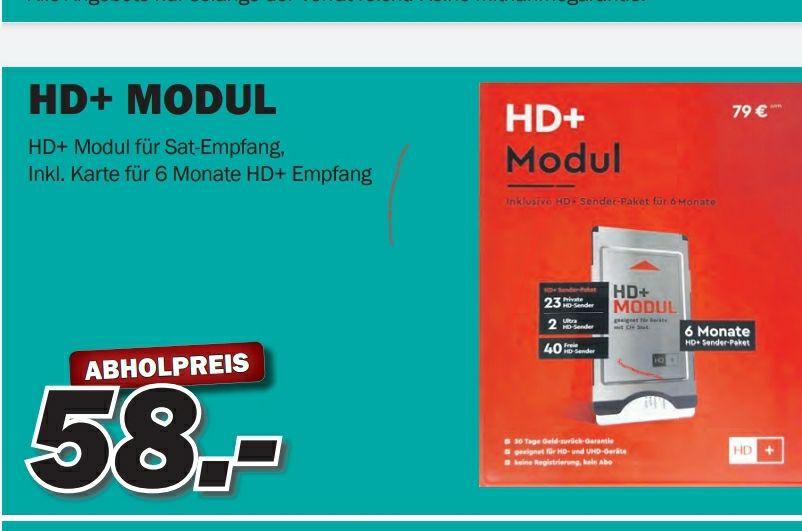 Radio Radtke Regional 6 Monate HD Plus inkl. MODUL UND KARTE FÜR 58€