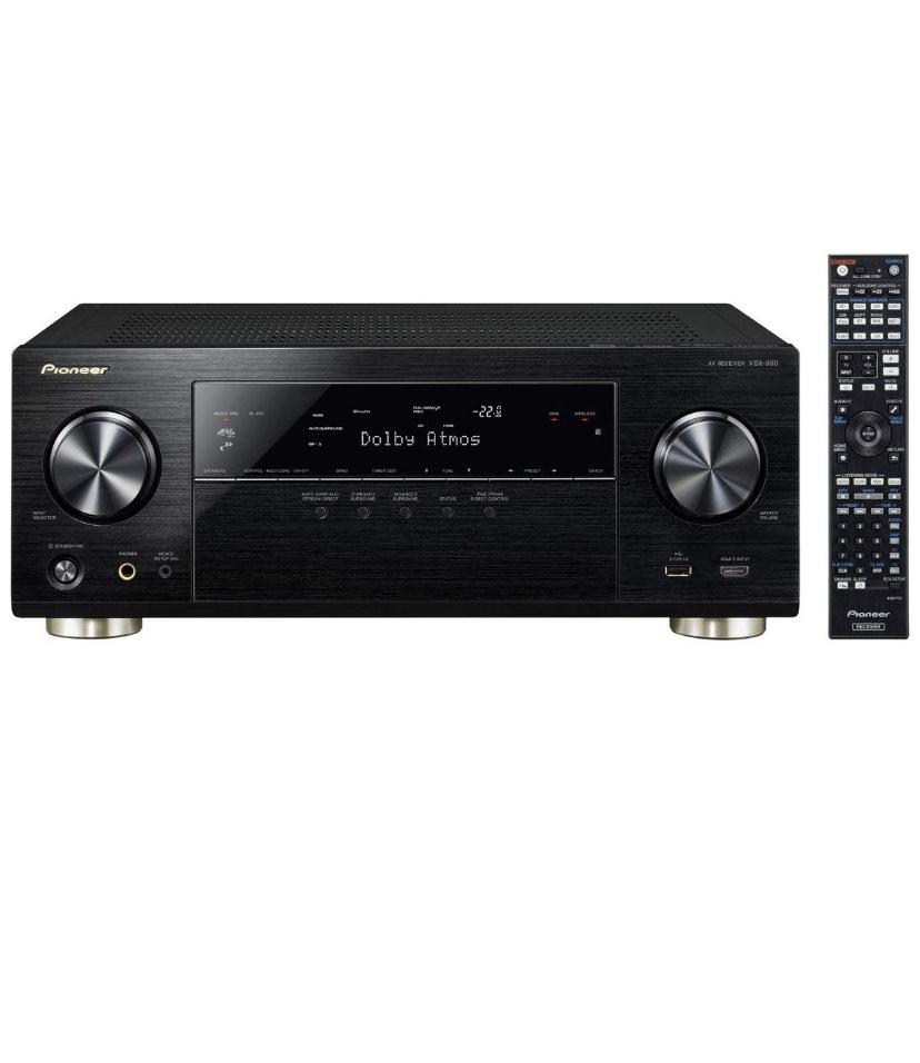 [Amazon] Pioneer VSX-930-K 7.2 Netzwerk-Mehrkanal Receiver