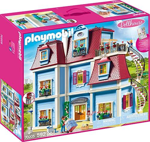 PLAYMOBIL Dollhouse 70205 Mein Großes Puppenhaus mit funktionsfähiger Türklingel für 79,99€ mit Prime