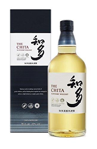 Suntory Whisky THE CHITA Single Grain mit Geschenkverpackung
