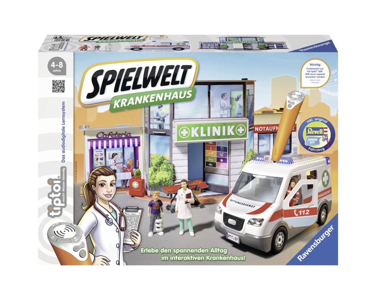 Ravensburger TipToi Spielwelt Krankenhaus für 15,64