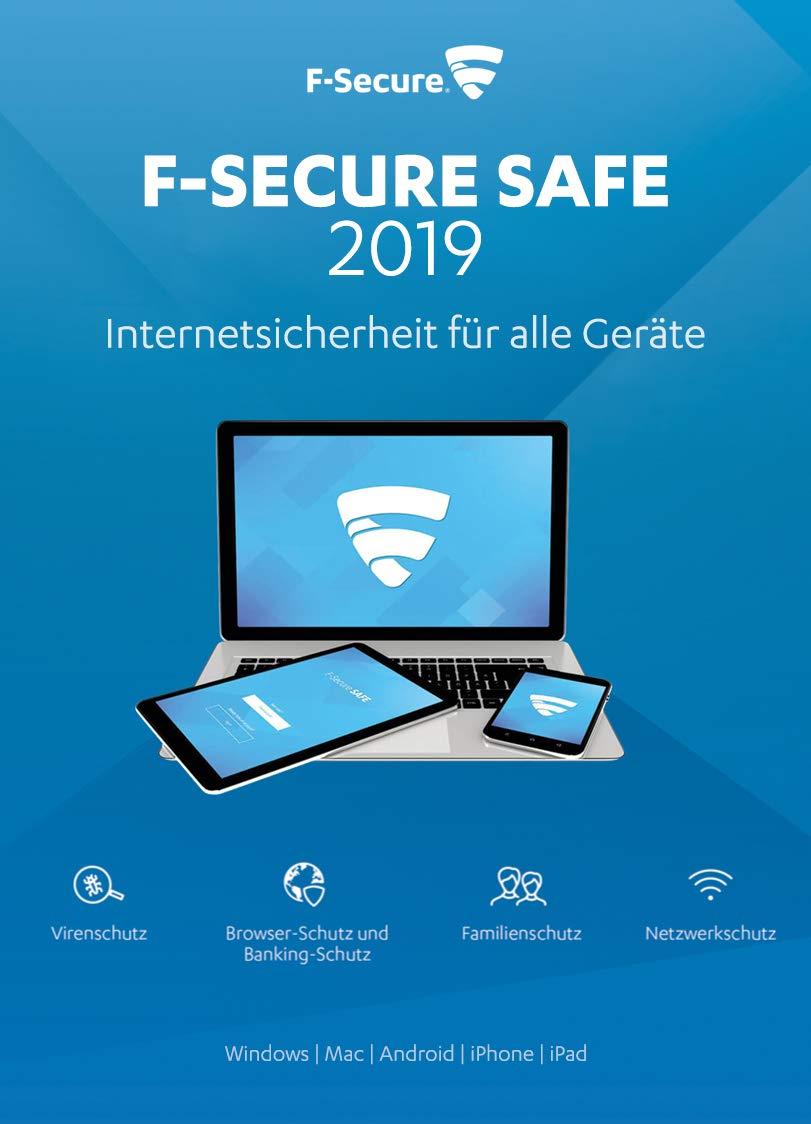 F-Secure SAFE 2019 - (1 Gerät, 1 Jahr)