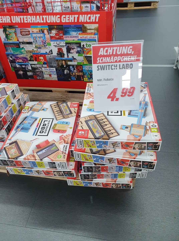 Nintendo Switch Labo MediaMarkt Hildesheim