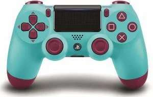 Sony PlayStation 4 DualShock 4 Wireless Controller V2 (Berry Blue) für 39,70€ (Amazon UK)