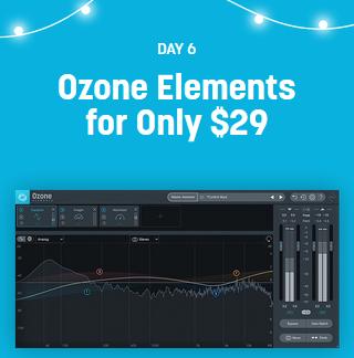 Ozone 9 Elements VST Mastering Plugin – 20 Days to 2020 Aktion – umgerechnet nur 25,99 Euro