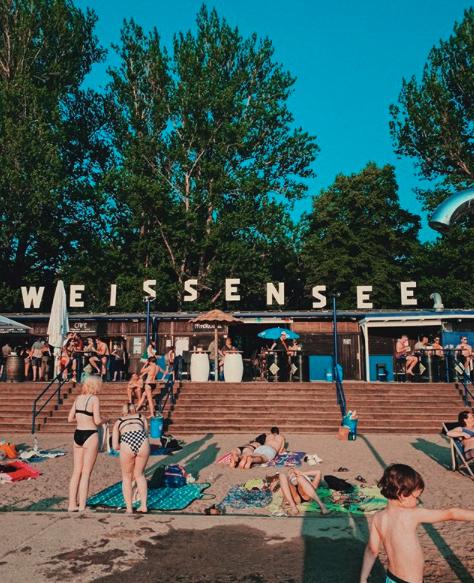 Lokal Berlin: 10er Karte fürs Strandbad Weißensee // Saisonkarte 2020 für 60€ statt 160€