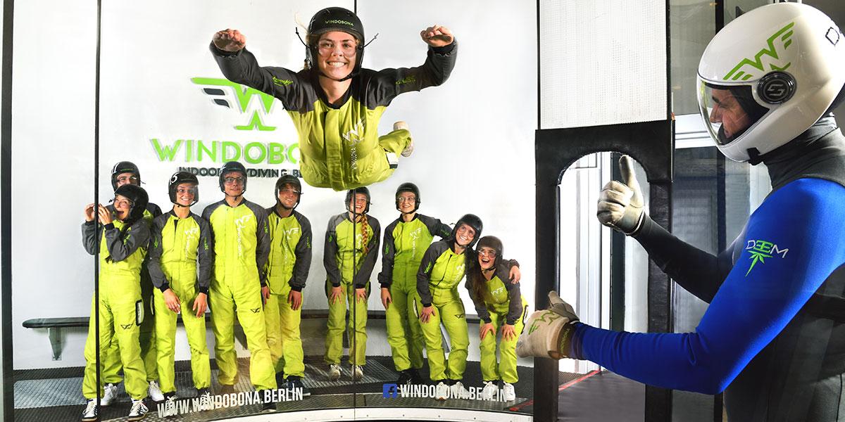 Windobona - Indoor-Skydiving (Berlin) - 15% Rabatt auf alles