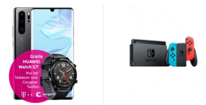 [Young MagentaEINS] Huawei P30 Pro+Watch GT+Nintendo Switch im Telekom Magenta Mobil M (24GB LTE) mtl. 39,95€ einm. 49€ (8,94€ nach Ankauf)
