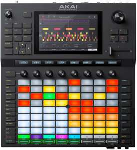 "Akai Force: DJ-Controller (7"" Touch-Display, 64 RGB Pads, 8 Regler, 4 Synth-Engines)"