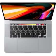 "Apple MacBook Pro 16"" 2019 Notebook silber 1TB, 32GB RAM, i9"