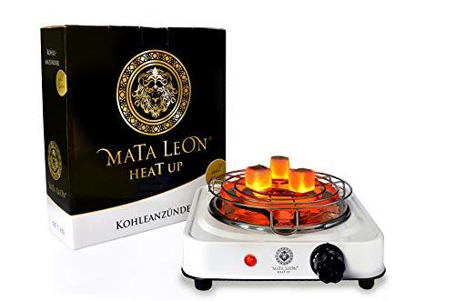 [Amazon] Mata Leon - Heat Up / Elektrischer Shisha Kohleanzünder 1000W inkl. Gitter