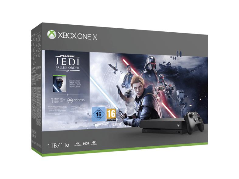 [Media Markt & Saturn] Xbox One X 1TB - Alle Bundles für 299,99€ (Online & Bundesweit) - Xbox One S für 189,99€
