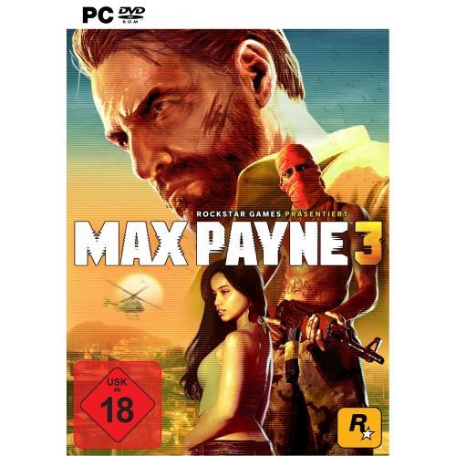 Max Payne 3 (nicht die Steam-Version) für 7,59€