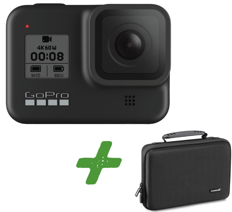 GoPro HERO8 Black Actioncam + CULLMANN Tasche für 359€ inkl. Versandkosten