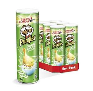 Pringles Sour Cream & Onion Chips | 6er Party-Pack (6 x 200g) [Amazon] 6,78€ Abo