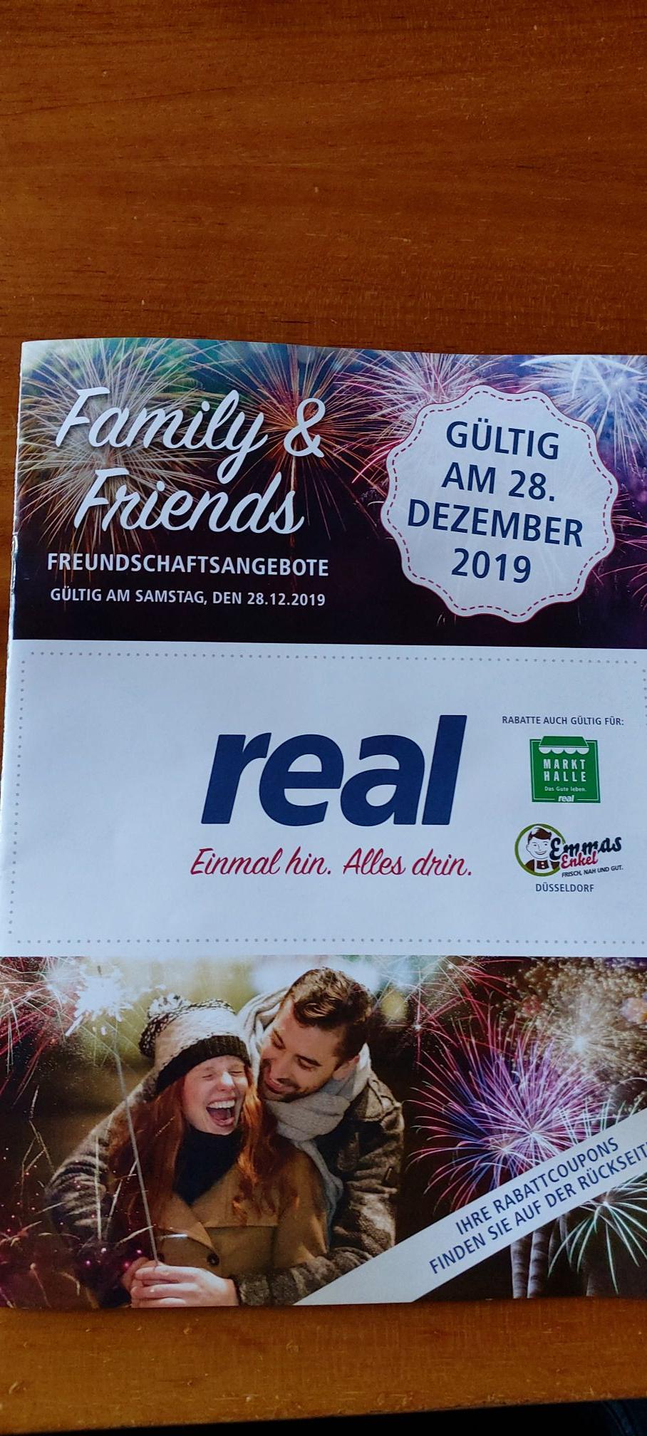 [Real Family & Friends] Aktion nur am 28.12.2019