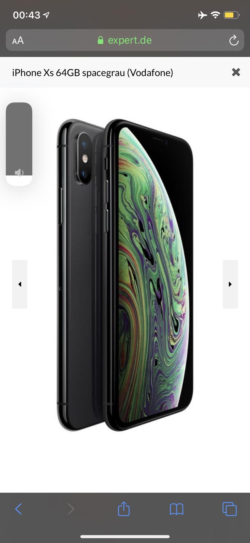 iPhone XS 64gb Gold Preisfehler EXPERT OCTOMEDIA AUSWÄHLEN Rastatt!