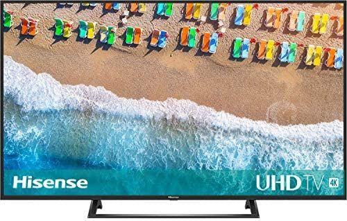 Hisense H55BE7200 138 cm (55 Zoll) Fernseher (4K Ultra HD, HDR, Triple Tuner, Smart-TV, Mittelfuß) [Amazon]