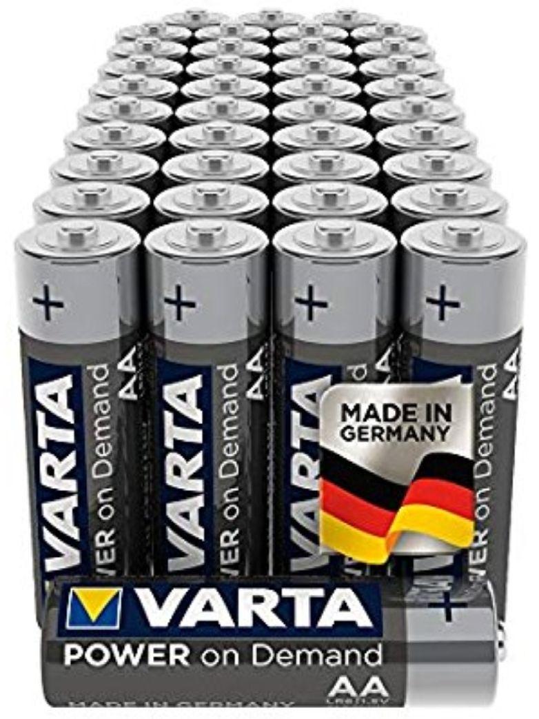 VARTA Power on Demand AA Mignon Batterien (40er)