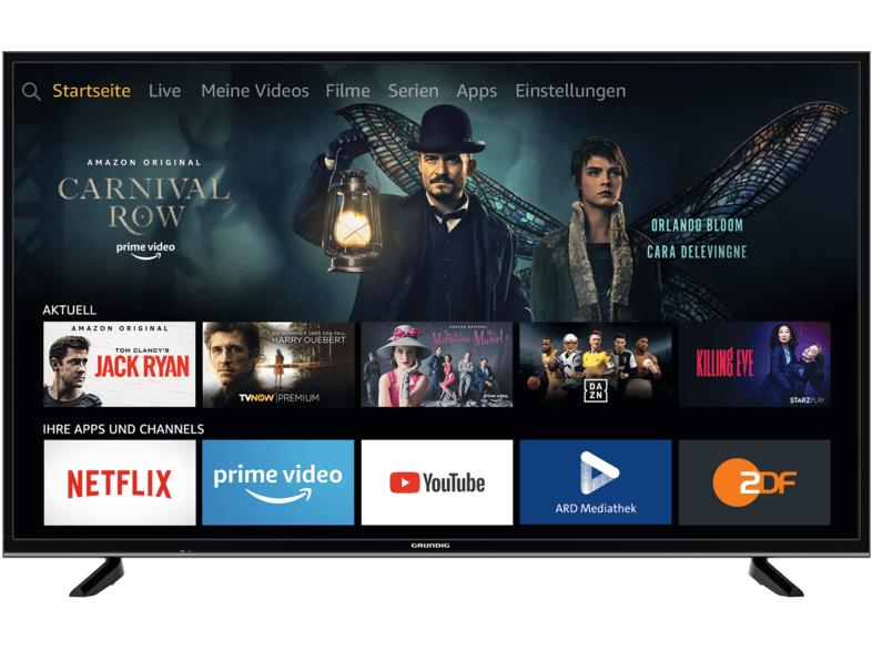 [Media Markt] GRUNDIG 55GUB7062 FIRE TV EDITION LED Fernseher (Flat, 55 Zoll/139 cm, UHD 4K, SMART TV) + 5-Jahre-PlusGarantie kostenlos!