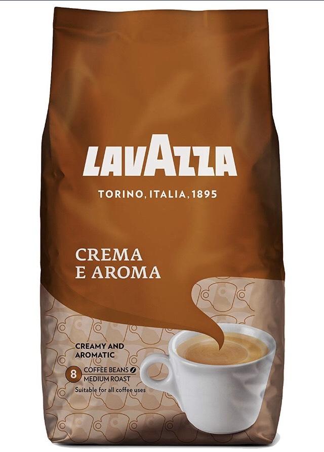 Lavazza Crema e Aroma 8,88€ für 1,1 kg [Kaufland]