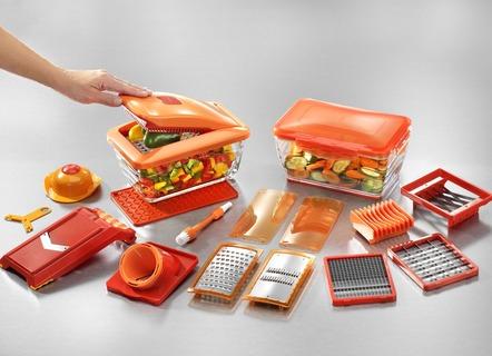Nicer Dicer Chef S Orange | 20 tlg. | mit Paydirekt-Zahlung & 10€-Gutschein