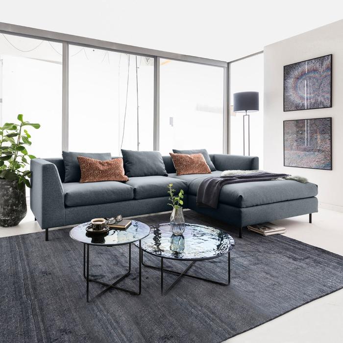 Freistil 165 Sofa by Rolf Benz, stylishe Wohnlandschaft über Eck