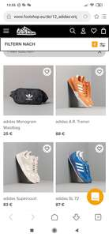 Adidas Sneaker und Streetwear