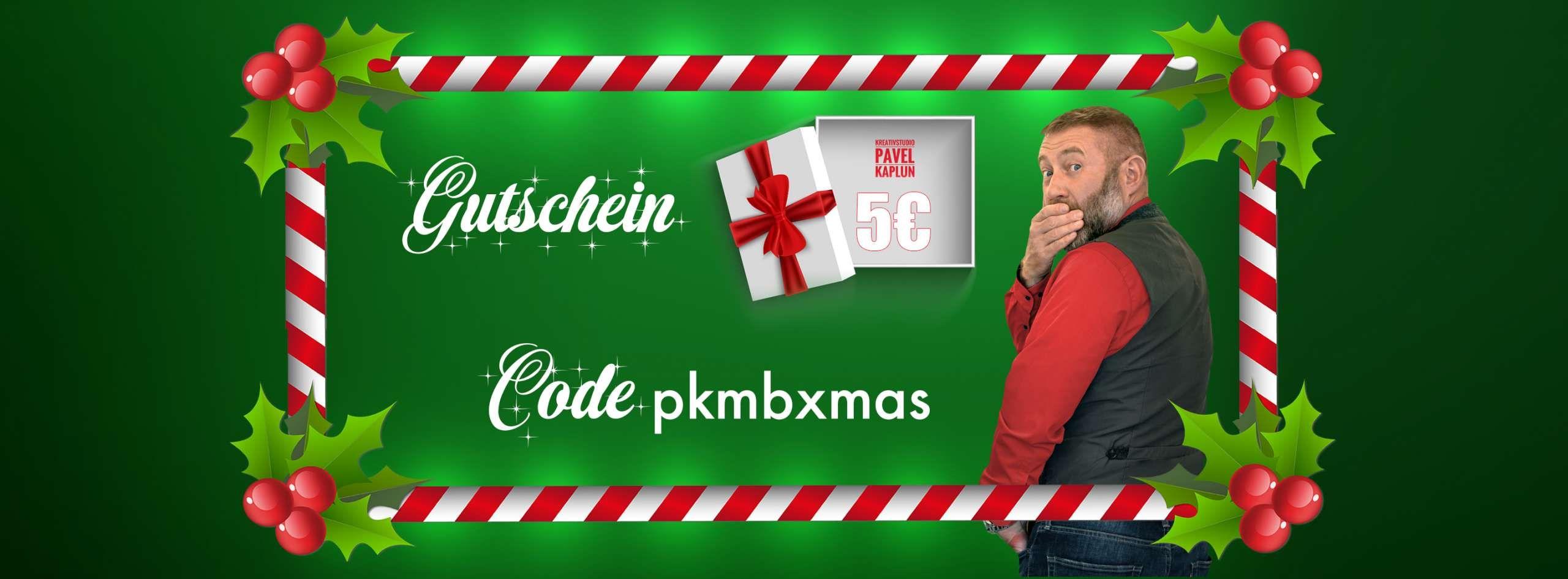 5€ Onlineshop-Gutschein für alle - MBW: 9,99 Euro - Kreativstudio Pavel Kaplun