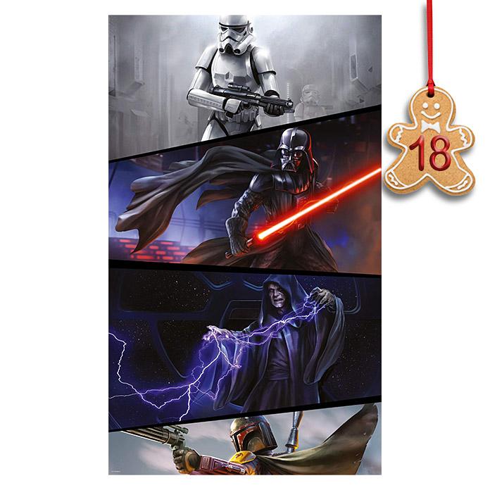 """Komar Star Wars Vlies-Fototapete """"Imperials"""" oder """"Rebels"""" für je 35€ (120 x 200 cm) *versandkostenfrei* [BAUHAUS]"""