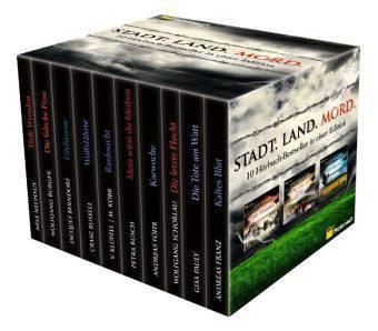 Hörbuch: ADAC Motorwelt-Box, 10 Krimis im Schuber bei amazon