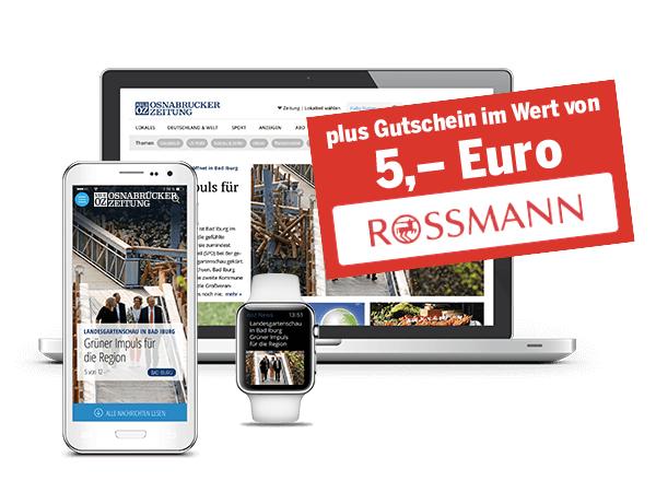 Digital NOZ Abo Abonnieren. für 0€ + 5€ Gratis Rossmann Gutschein bekommen. Preisfehler Unbegrenzt