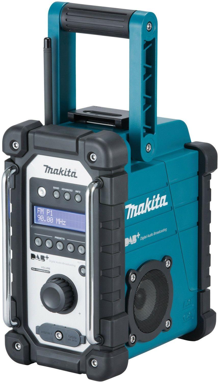Makita Akku-Baustellenradio DMR 110 DAB & DAB+ (7,2 - 18 V,)