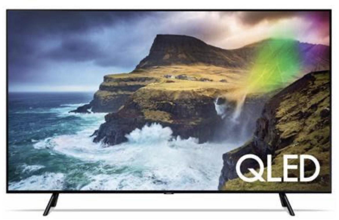 Samsung GQ55-Q70RGT + Samsung Galaxy A30