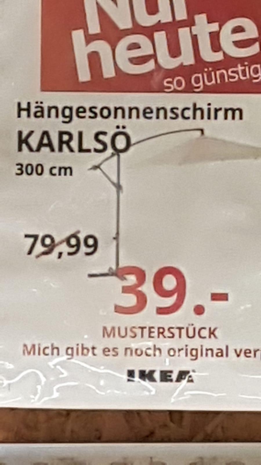 Ikea Hängesonnenschirm Karlsö